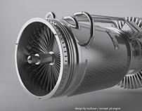 Jet Engine // Cinema 4D // Modeling