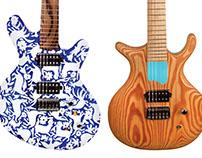 Guitars by Evil Evil