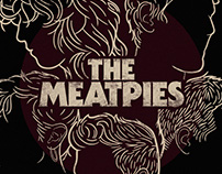 The Meatpies - Music Poster