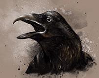 Crow by unikatdesign
