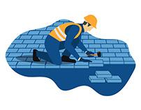 Stone Road Illustration For CRIDA