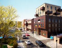 London - Pitfield Street Mixed Development