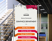 Graphics Department Banner Stand