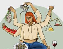 a mediterranean diet