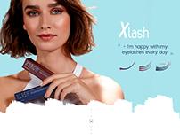 Xlash-Landing page