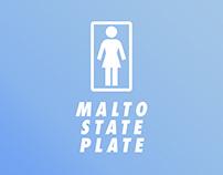 Girl - Malto Plate