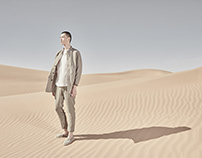 沙漠里的服装片