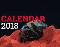 Digital Art Calendar 2018 by Nopeidea®