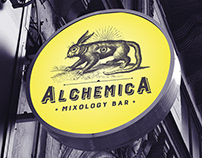 Alchemica - Fictional Branding Package