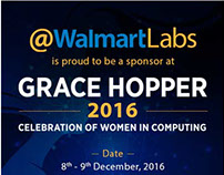 Grace Hopper 2016 Event Creatives