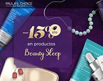 Diseño de banners y redes sociales para ¨Paulas Choice¨
