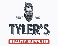 TYLER'S BEAUTY SUPPLIES Brand Identity Concept