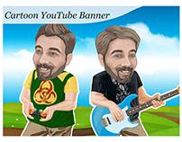 Cartoon Youtube Banner