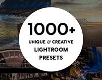 1000+ Pro Lightroom Presets Bundle by Contrastly Shop