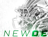 UNT Football Media Guide Cover: by Brett Gemas