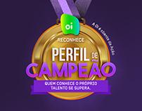 OI | Campanha Interna de Incentivo: Perfil de Campeão