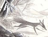 """""""Tabibito"""" : les 3 vies d'un renard"""