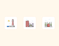 Icon Set - #DailyUI #055