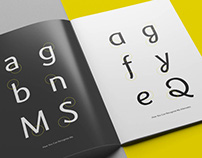 Prell Typeface - Speciment