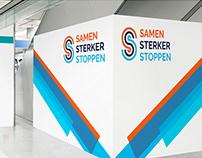 Samen Sterker Stoppen - Logo Ontwerp