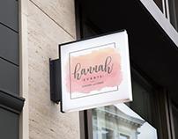 Hannah wedding & planner branding