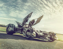 Batman vs Superman - The Batmobile_UK