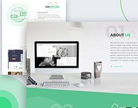 SOLO Landing Page Design