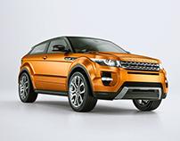 CGI Range Rover - Evoque