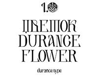 Durance Type — urban legend font