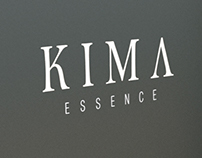 KIMA | Realizzazione grafica logo +fustella profumo