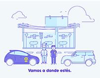Garage - Servicios de mecánica automotriz.