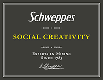 Schweppes - Social Network Creativity Italy