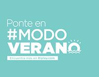 Ponte #ModoVerano 2018