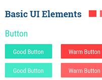 Basic Flat UI Elements