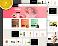 Redesign - Cosmetic Website - Body Shop