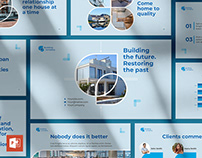 Building Company PowerPoint Presentation Template