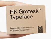 HK Grotesk — Open Source Typeface