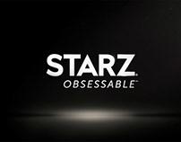 STARZ - Branding - 'Obsessable'