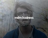 mdrn business presentation template
