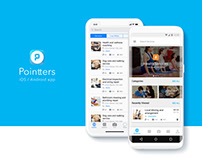 Pointters - iOS + Android App UI/UX