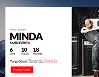 Minda-countdown UX design