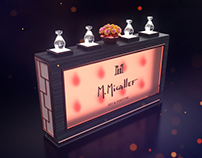 Promo corner M. Micallef for TSUM Moscow