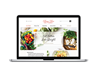 Busy Bee Food Company Web Design