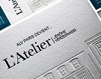 L'ATELIER JÉROME VERZEGNASSI - COMMUNICATION PRINT