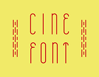 CINE free font