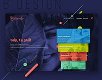 Logo, brand identity &web design