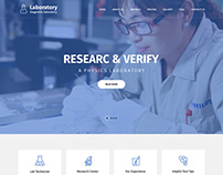 Diagnostic Laboratory WordPress Theme