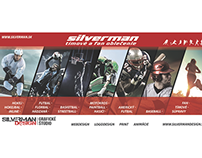 advertising for the company  silverman in newspapers