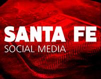 independiente Santa fe social media