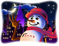 Randy The Snowman 2016